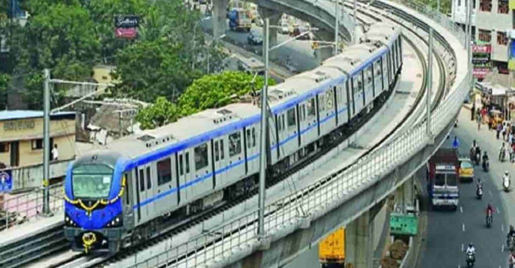 Chennai metro train - updatenews360