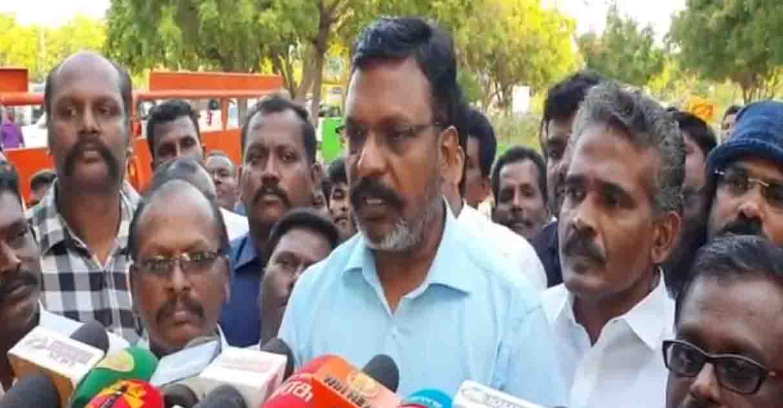 Thirumavalavan Press Meet- updatenews360