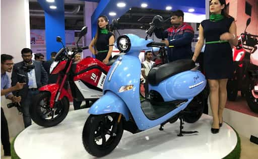 EeVe India unveils new electric motorcycle and e-scooter at Auto Expo 2020
