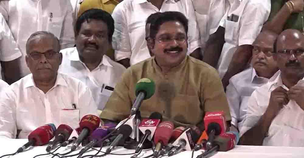 Chennai TTV Dinakaran Byte- updatenews360