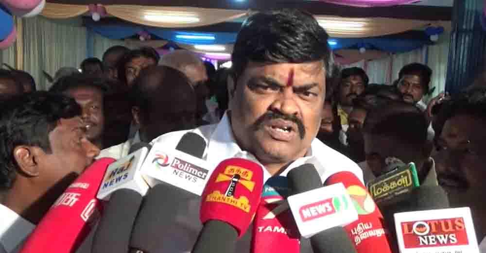 MInister Rajendra Balaji Byte- updatenews360