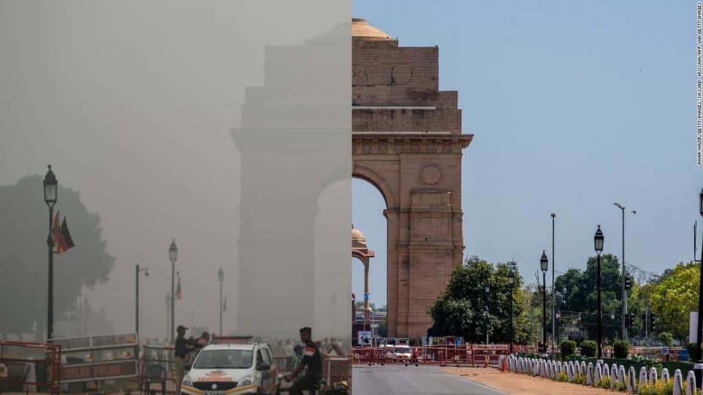 """Air Pollution Levels In North India At """"20-Year Low"""" Amid Lockdown: NASA"""