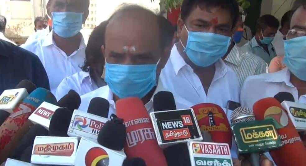 Minister Kadambur raju - Updatenews360