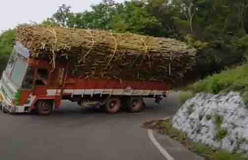 Sathy Lorry Upset -Updatenews360