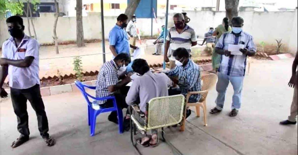 Virudhunagar police Corona Test