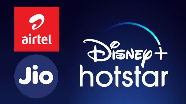 Airtel And Reliance Jio Plans That Ship Disney+ Hotstar And Other OTT Platforms Subscription
