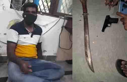 Andhra Foremr Army Man arrest - Updatenews360