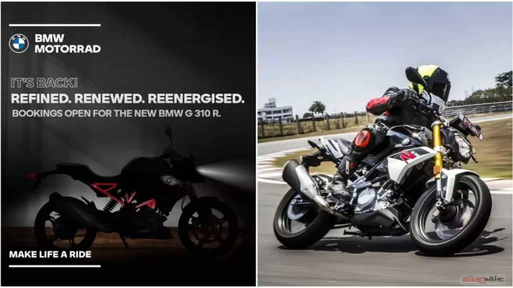 BMW G 310 R, G 310 GS BS6 official pre-bookings to start soon