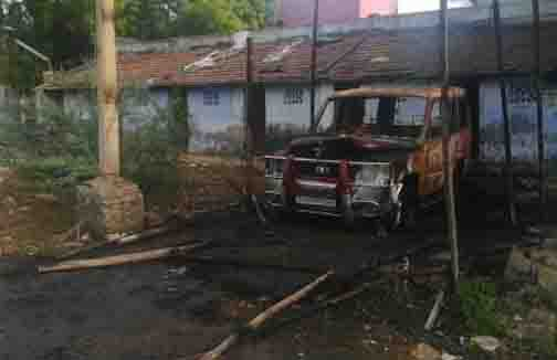Car Set Fire - Updatenews360