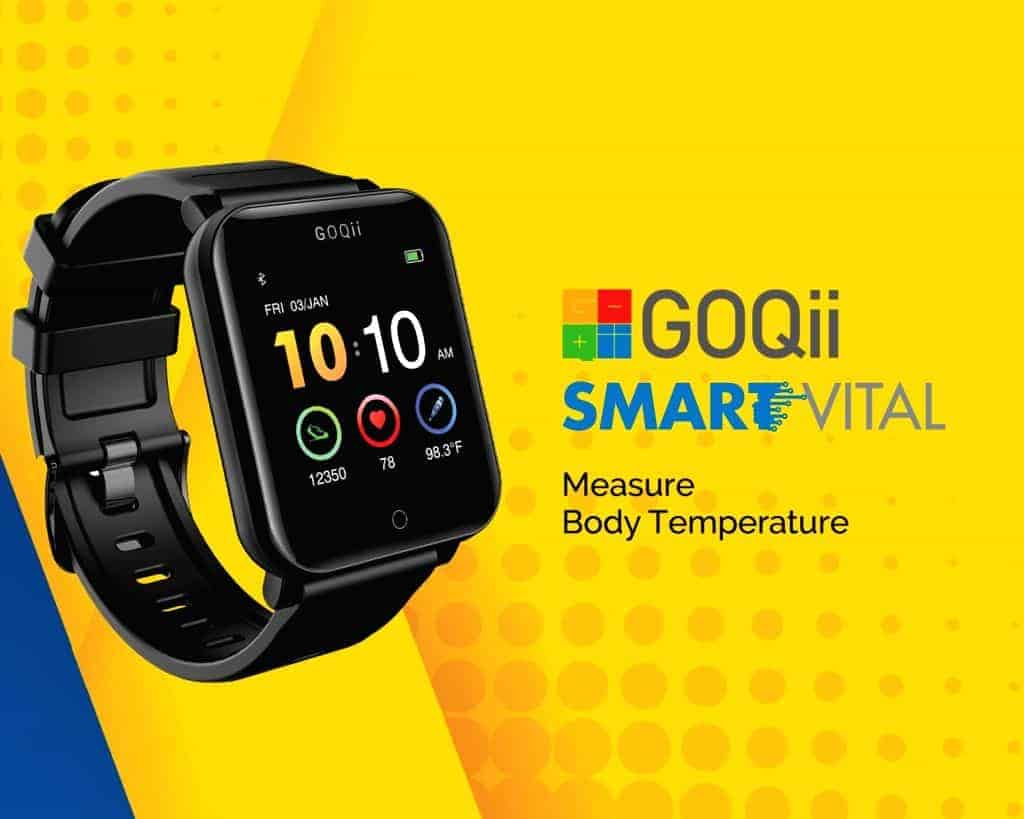 GOQii launches 'Smart Vital Watch' in India