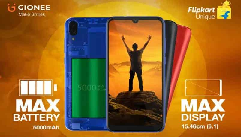 Gionee Max goes on sale today in India, all you need to know
