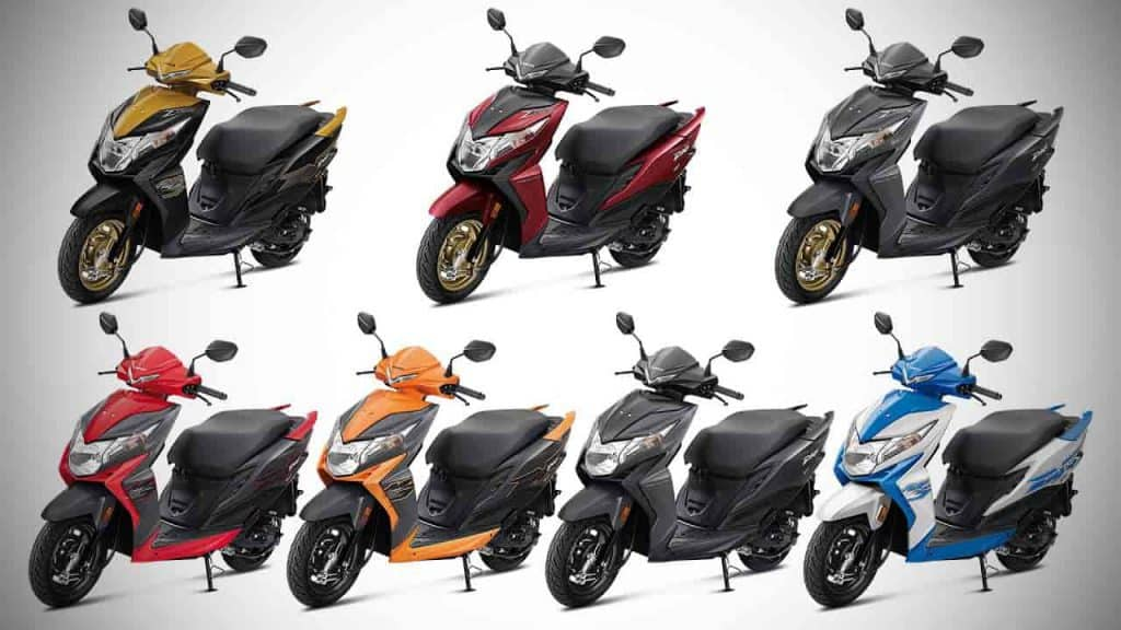 Honda Dio BS6 price increased for the second time in India
