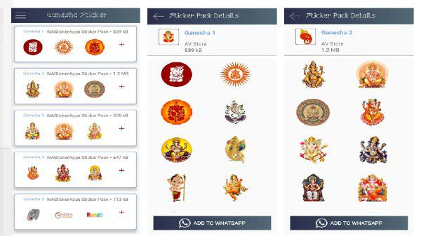 How To Download And Send Ganesh Chaturthi WhatsApp Stickers