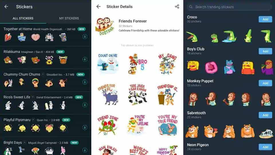 How to download Friendship Day stickers on WhatsApp, Telegram and Hike