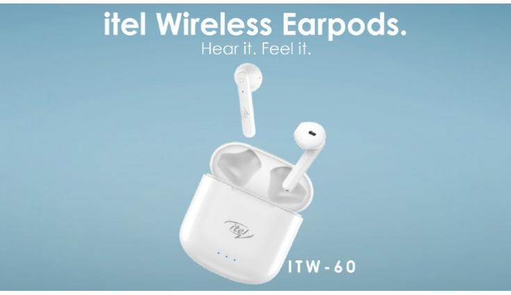 Itel ITW-60 wireless earbuds launched in India for Rs 1,699
