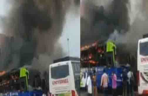 Koyambedu Fire - Updatenews360
