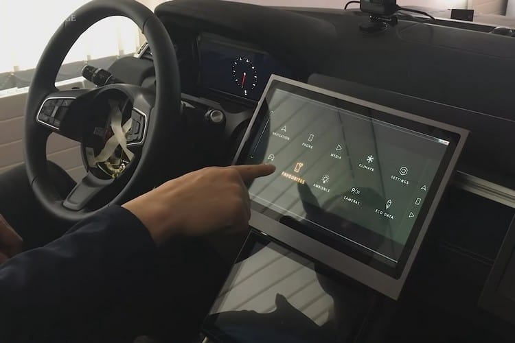 """Land Rover and Cambridge University Develop a """"No-Touch Touchscreen"""" for Cars"""