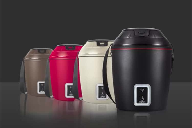 Milton Just Launched an App Enabled Smart Tiffin
