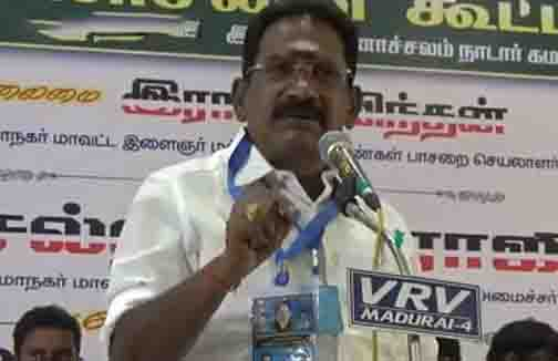 Minister Sellur Raju- Updatenews360