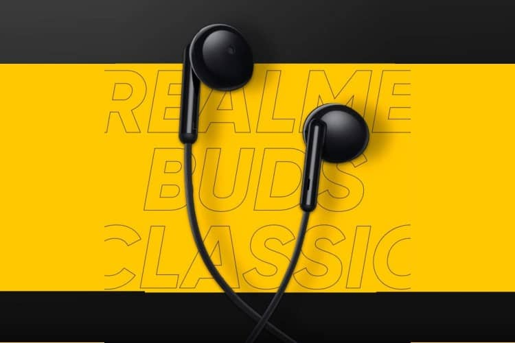 Realme Buds Classic with 14.2mm Drivers, Half In-Ear Design Launched