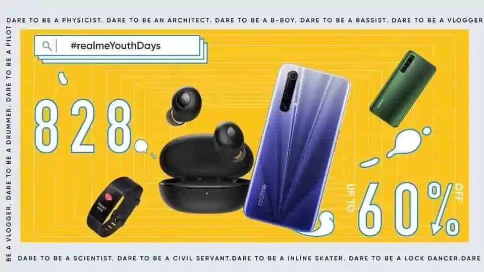 Realme will be hosting its upcoming sale in India via Realme.com, Amazon India, Flipkart and its offline stores between August 24 and August 28.
