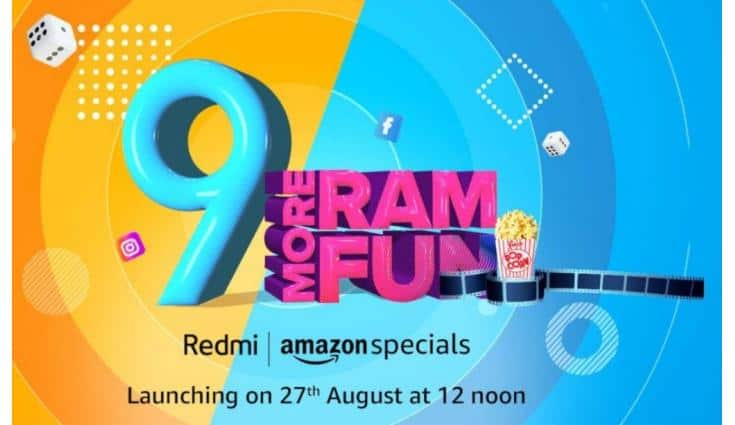 Redmi 9 will come with AI dual rear cameras with LED flash.