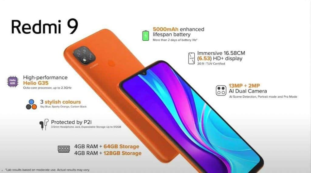 Redmi 9 first sale to be held today