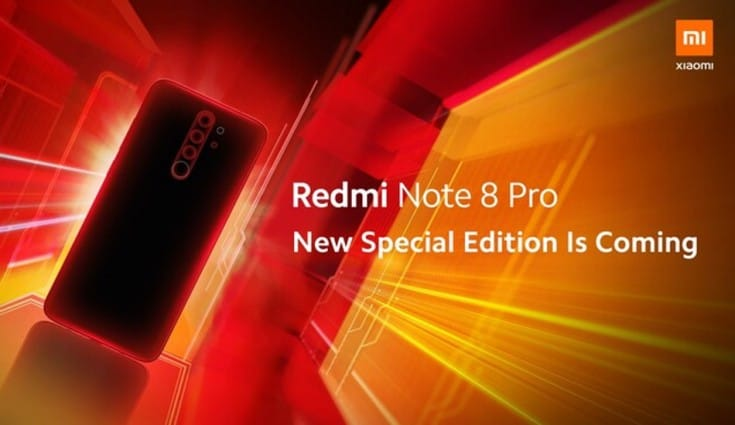 Redmi Note 8 Pro Special Edition coming soon