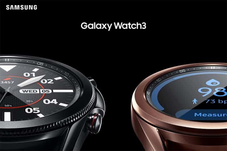 Samsung Galaxy Watch 3 Launched with ECG