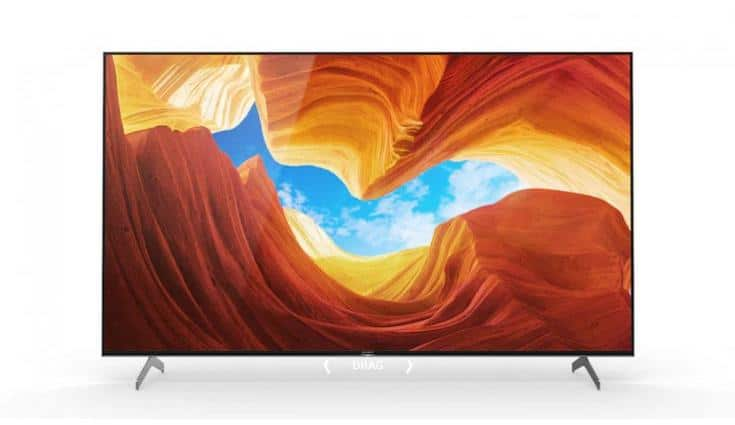 Sony BRAVIA X9000H series of Smart TVs launched in India