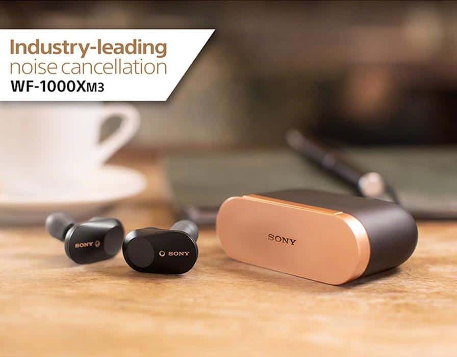 Sony WF-1000XM3 Earbuds with ANC Launched in India