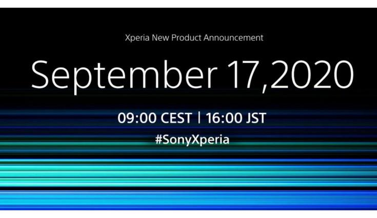 Sony Xperia 5 II will be announced on September 17