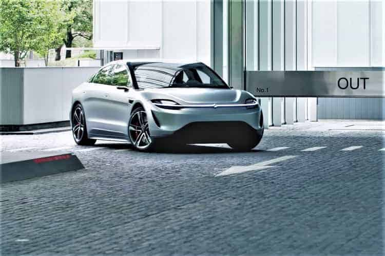 "Sony to Test Its ""Vision-S"" Concept Car on Public Roads Later This Year"