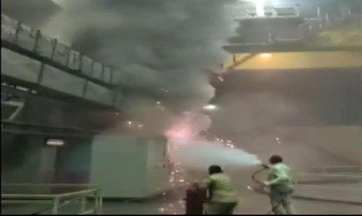Srisailam_Fire_UpdateNews360