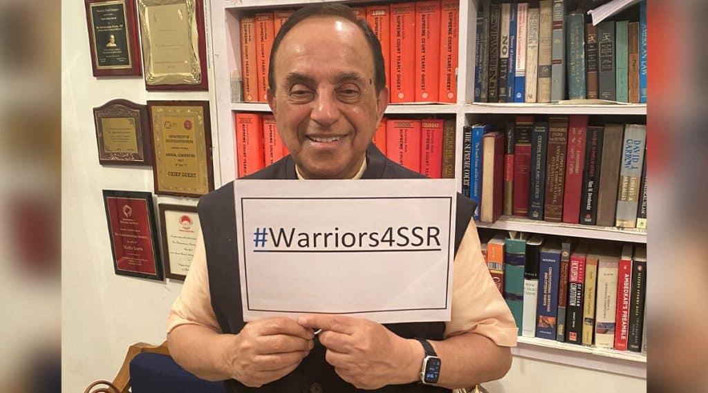 Sushant-Singh-Rajput-Case-Subramanian-Swamy-Joins-Warriors4SSR-Digital-Protest-updatenews360