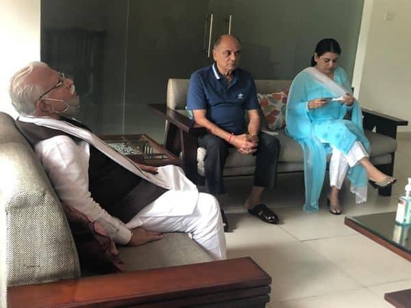 Sushant_Singh_Rajput_family_Haryana_ML_Khattar_UpdateNews360