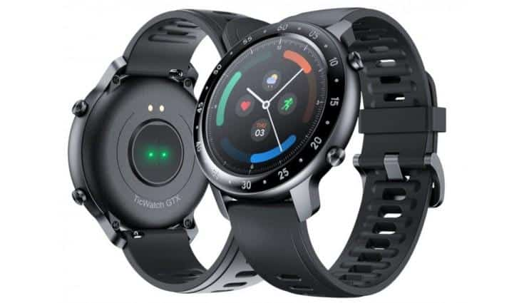 TicWatch GTX Smartwatch launched in India with a 10-day battery life