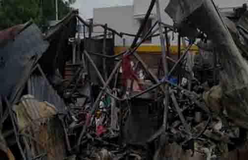 Tirupur Godown Fire - Updatenews360