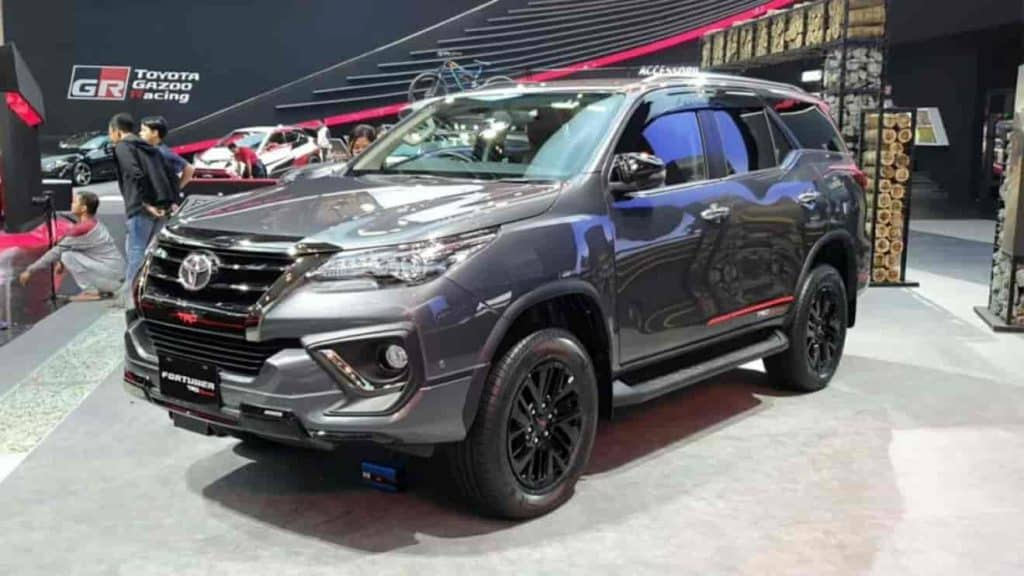 Toyota Fortuner TRD limited edition launched in India