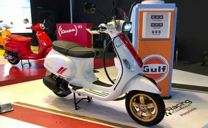 Vespa Racing Sixties India launch slated for September 1