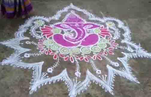 Vinayagar Kolam - Updatenews360