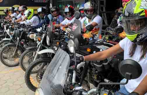 Woman Bike Rally -Updatenews360