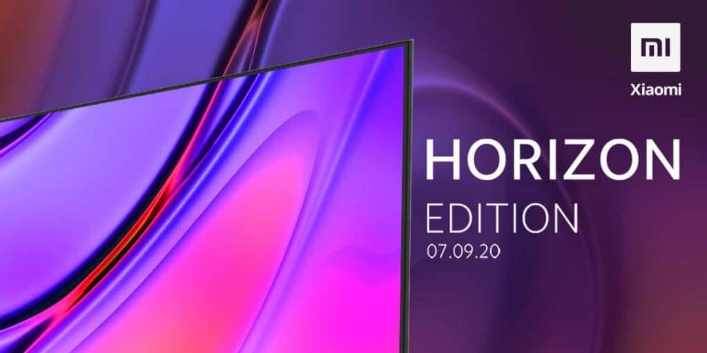 Xiaomi Mi TV Horizon Edition to launch in India on September 7