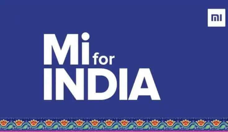 Xiaomi pledges 2,500 smartphones as part of its new 'Mi for India' campaign