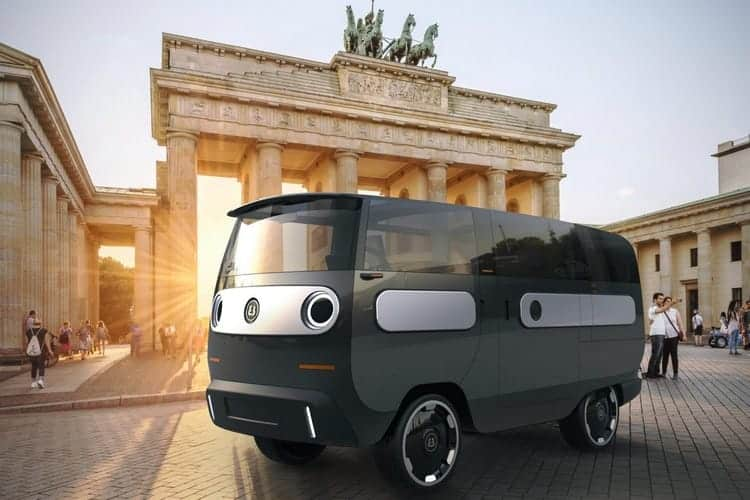 """The """"eBussy"""" is a Unique Modular EV Featuring a """"Movable"""" Steering Wheel"""