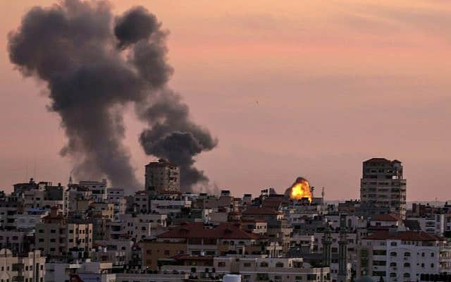israel_strikes_gaza_terror_sites_updatenews360