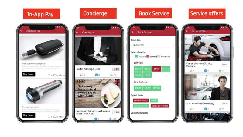 Audi introduces updated 'myAudi Connect' App for customers and fans alike