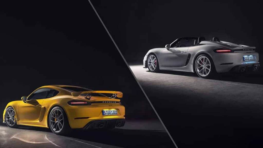 2020 Porsche 718 Spyder and Cayman GT4 launched in India