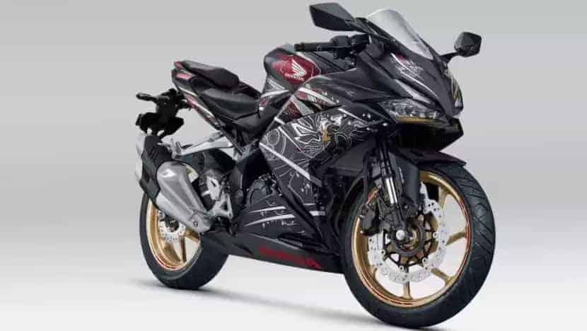 Honda CBR250RR Garuda x Samurai Edition revealed