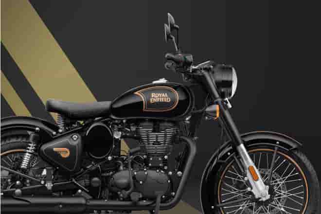 Royal Enfield Classic 500 Tribute Black Edition launched in the UK